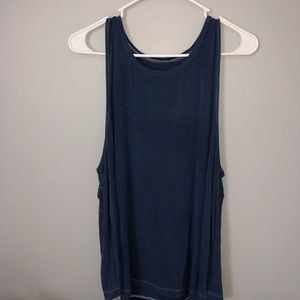 Navy Soft and Sexy Tank